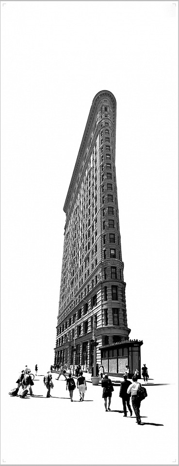 Marc Harrold, Flat Iron Diasec mounted C-print