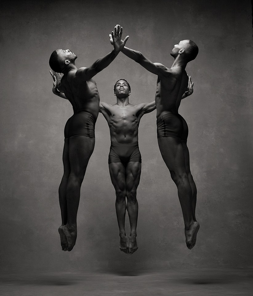Ken Browar & Deborah Ory, Alvin Ailey Dancers - 65 Dye sublimation print on aluminum