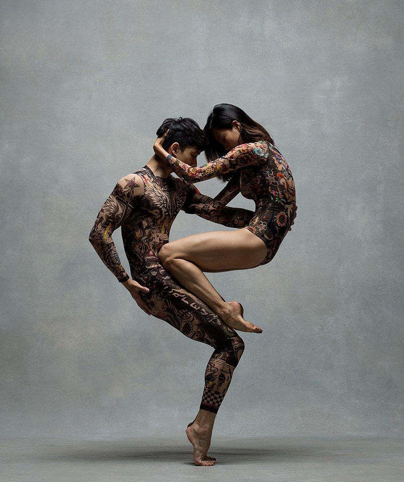 Ken Browar & Deborah Ory, WanTing & Bruce Zhao Dye sublimation print on aluminum